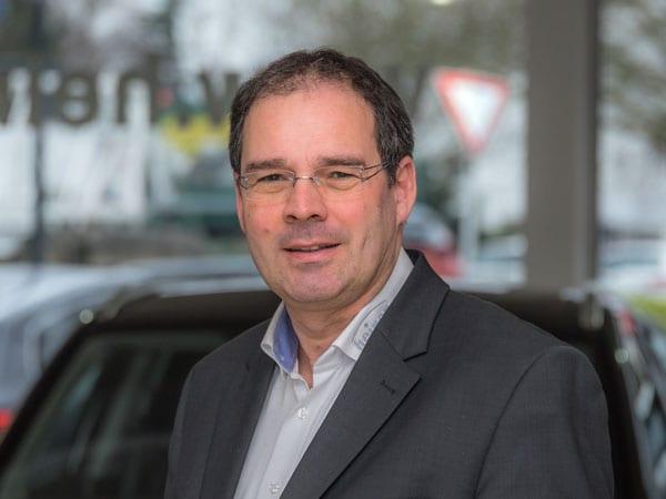 Verkaufsleiter Andreas Schreiter