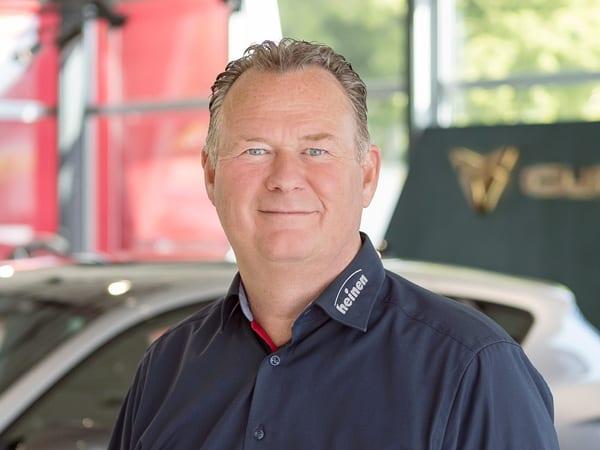 Gebrauchtwagen Verkaufsleiter Frank Müller