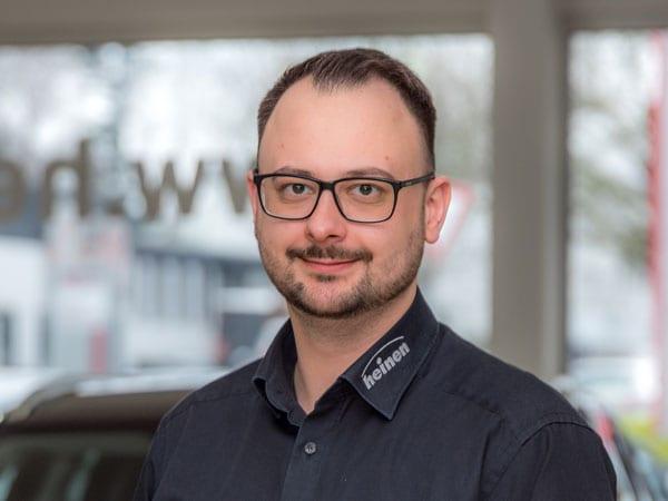 Kundendienstberater Marco Drößler