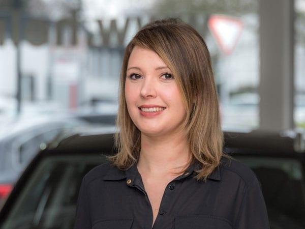 Verwaltungsangestellte Sabrina Schilase