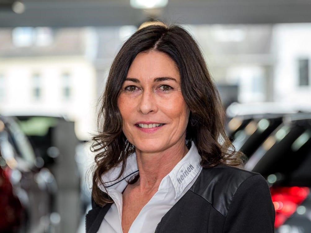 Verwaltungsangestellte Sandra Schalke