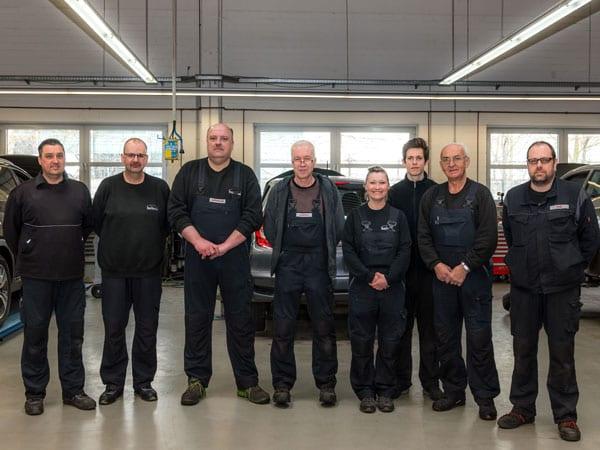 Heinen Werkstatt Team Essen