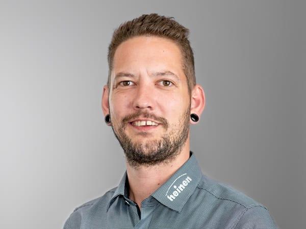 Verwaltungsangestellter Christoph Schiminowski