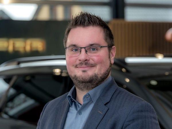 Verkaufsberater Björn Knipping