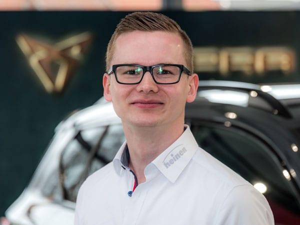 Verkaufsberater Fabian Kadenbach