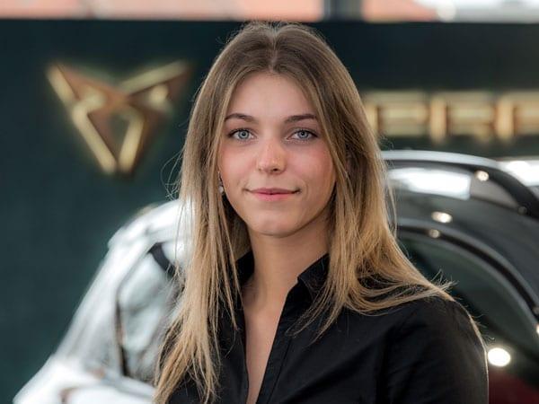 Verkaufsassistentin Natalia Wolny