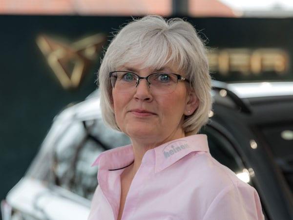 Verwaltungsangestellte Sabine Schorsch