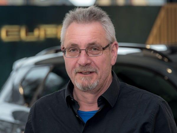 Werkstattleiter Uwe Schmidt