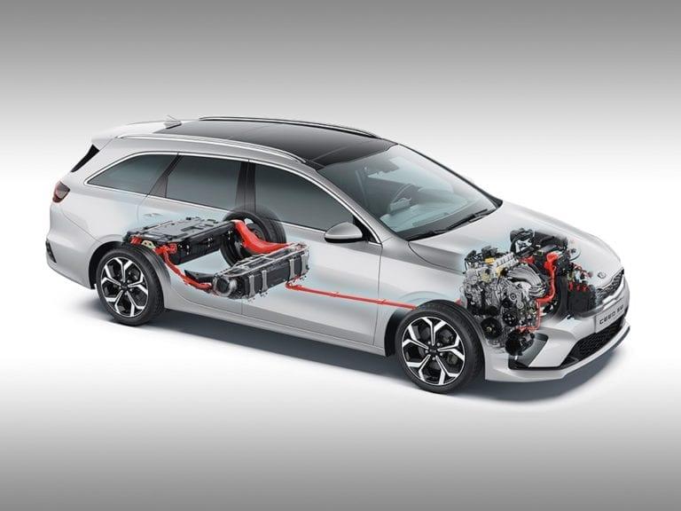Kia Ceed SW PHEV Hybridtechnik 1