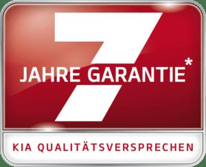 Kia 7 Jahre Garantie und Qualitätsversprechen
