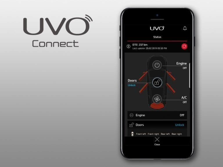 kia sportage UVO Connect