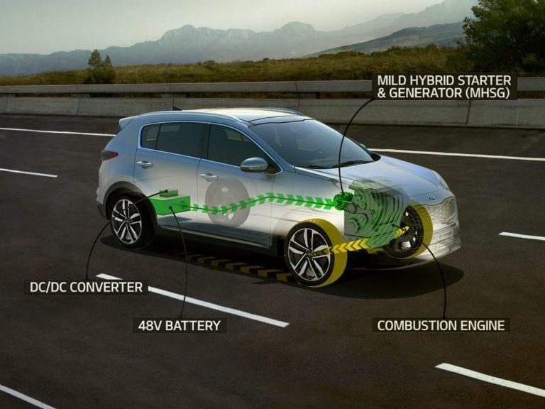 Kia Sportage Mild-Hybrid 1