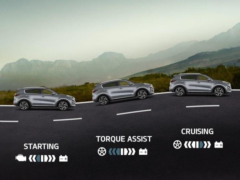 Kia Sportage Mild-Hybrid 3
