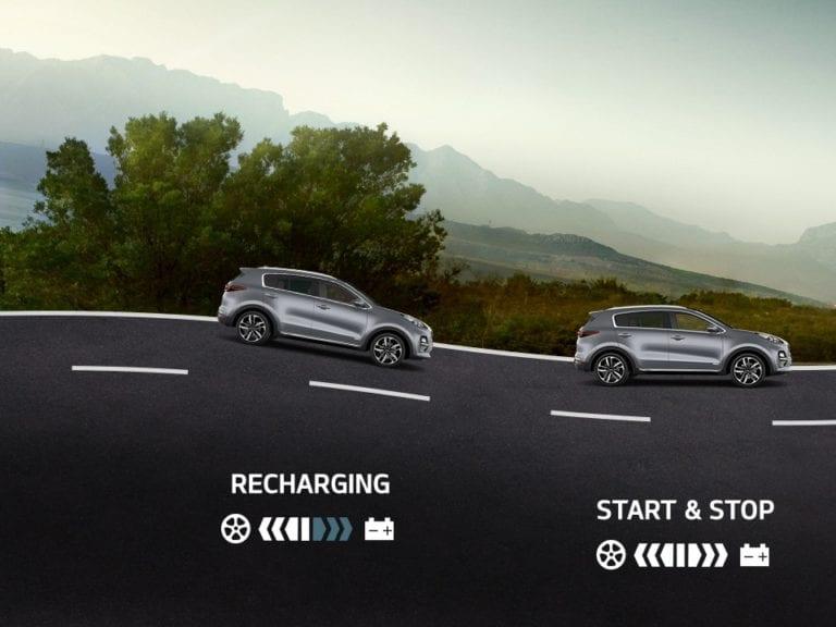 Kia Sportage Mild-Hybrid 4