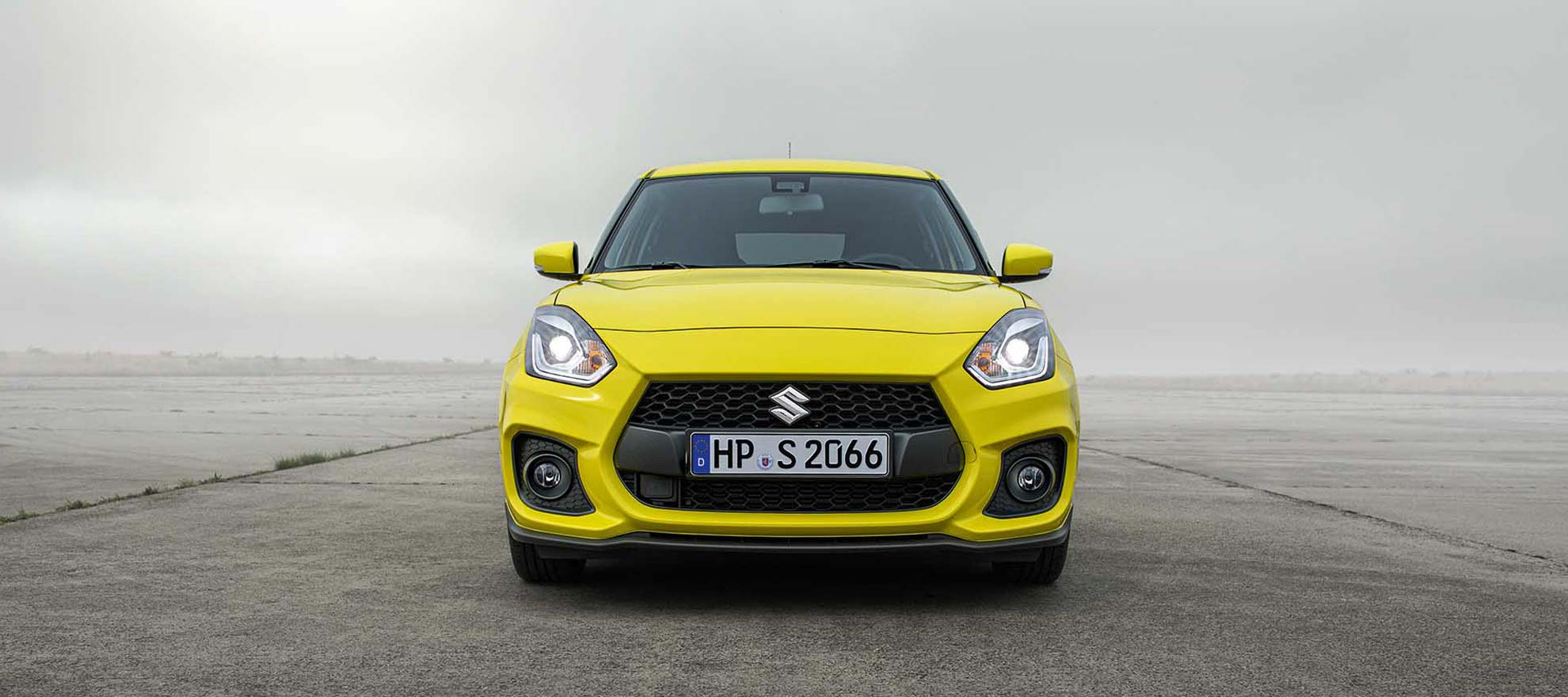 Der Suzuki Swift Sport Hybrid im Motor Center Heinen