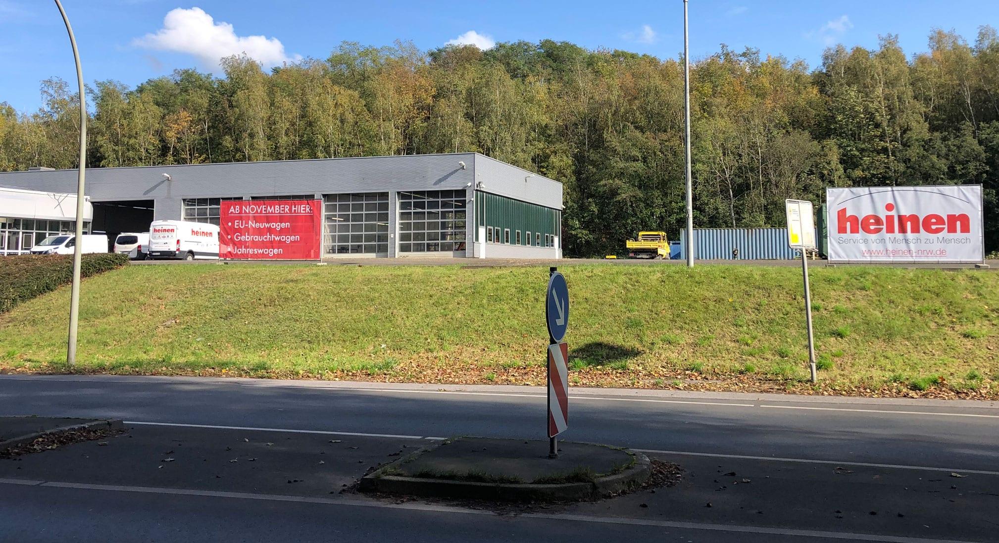 Eröffnung Werne Heinen