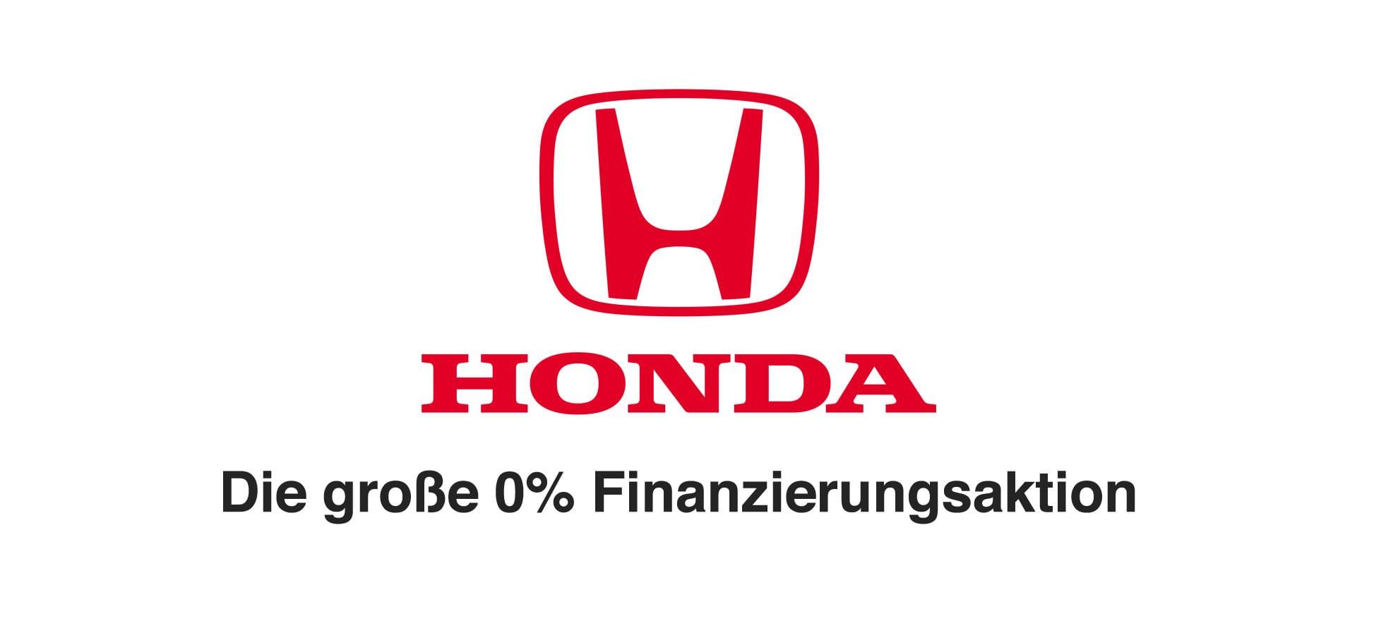 Honda 0 Prozent Finanzierung
