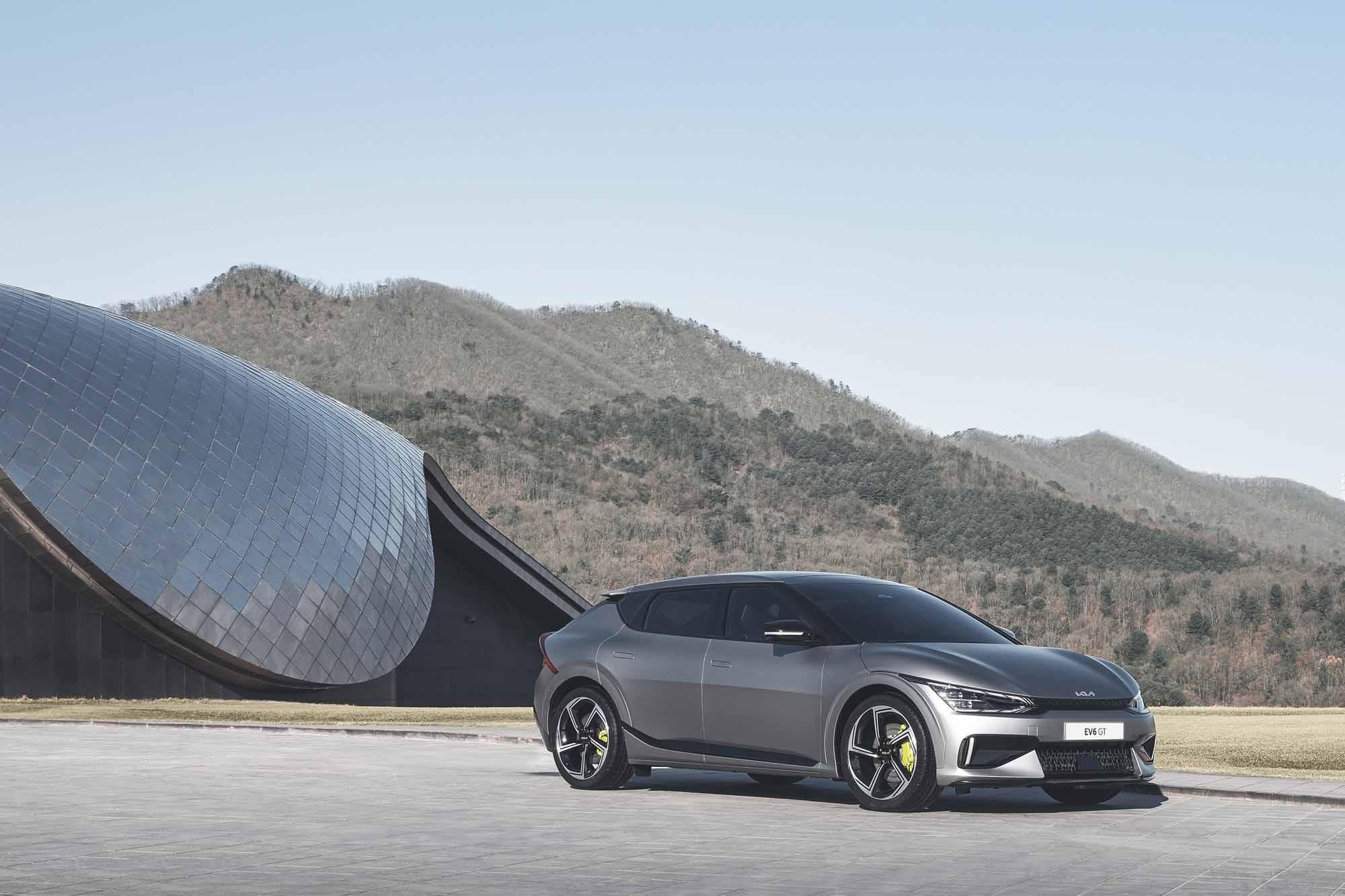 Der neue Kia Ev6 im Motor Center Heinen