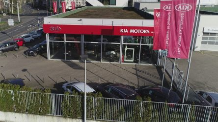 Kia Motor Center Heinen Essen Birdview2